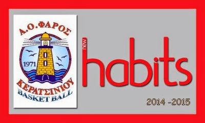 Far0s bc - Habits 2014-2015