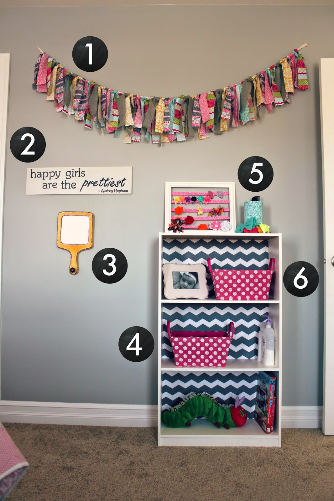 All things diy room reveal girl 39 s bedroom on a budget - Creative decoration ideas for home without ripping you off ...