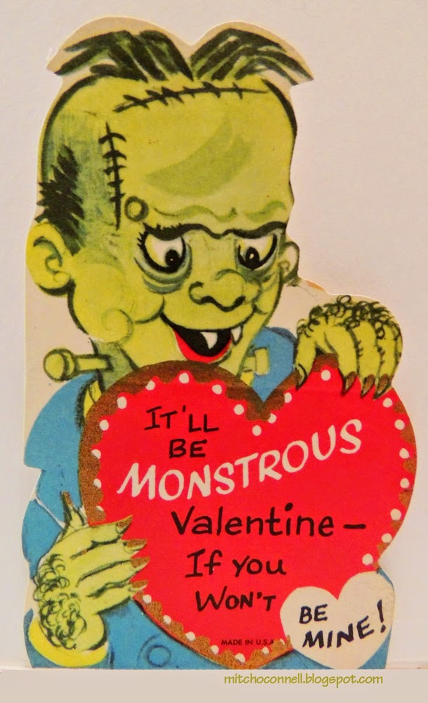 Strange And Funny Vintage Valentines Cards Pix  i am bored