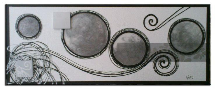 Cuadros abstractos blanco y negro online car interior design - Cuadro blanco y negro ...