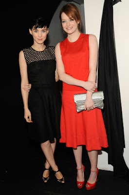 Emma Stone, Rooney Mara - New York Fashion Week