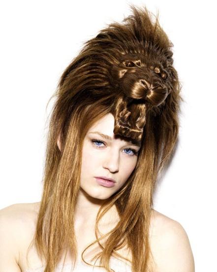 Increíbles peinados con forma de animales