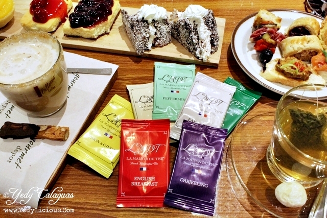 High tea wednesdays at wine depot featuring french tea for Maison brand