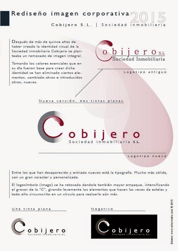 nueva imagen corporativa Cobijero S.L.