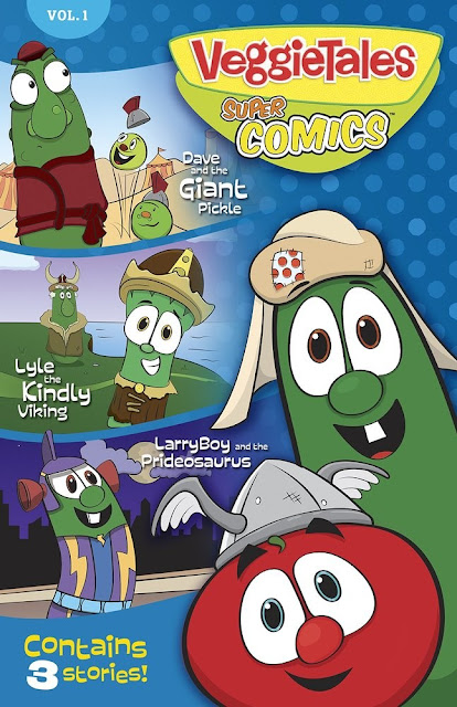 VeggieTales Super Comics Vol. 1 : Dave and the Giant Pickle, Lyle the Kindly Viking, and LarryBoy and the Prideosaurus