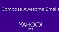 Agregar fotos, enlaces, gifs y archivos en un clic en Yahoo