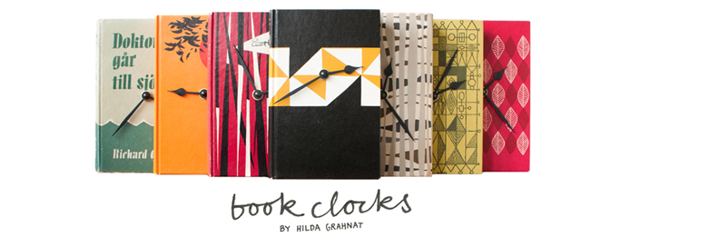 BOOK CLOCKS by HILDA GRAHNAT