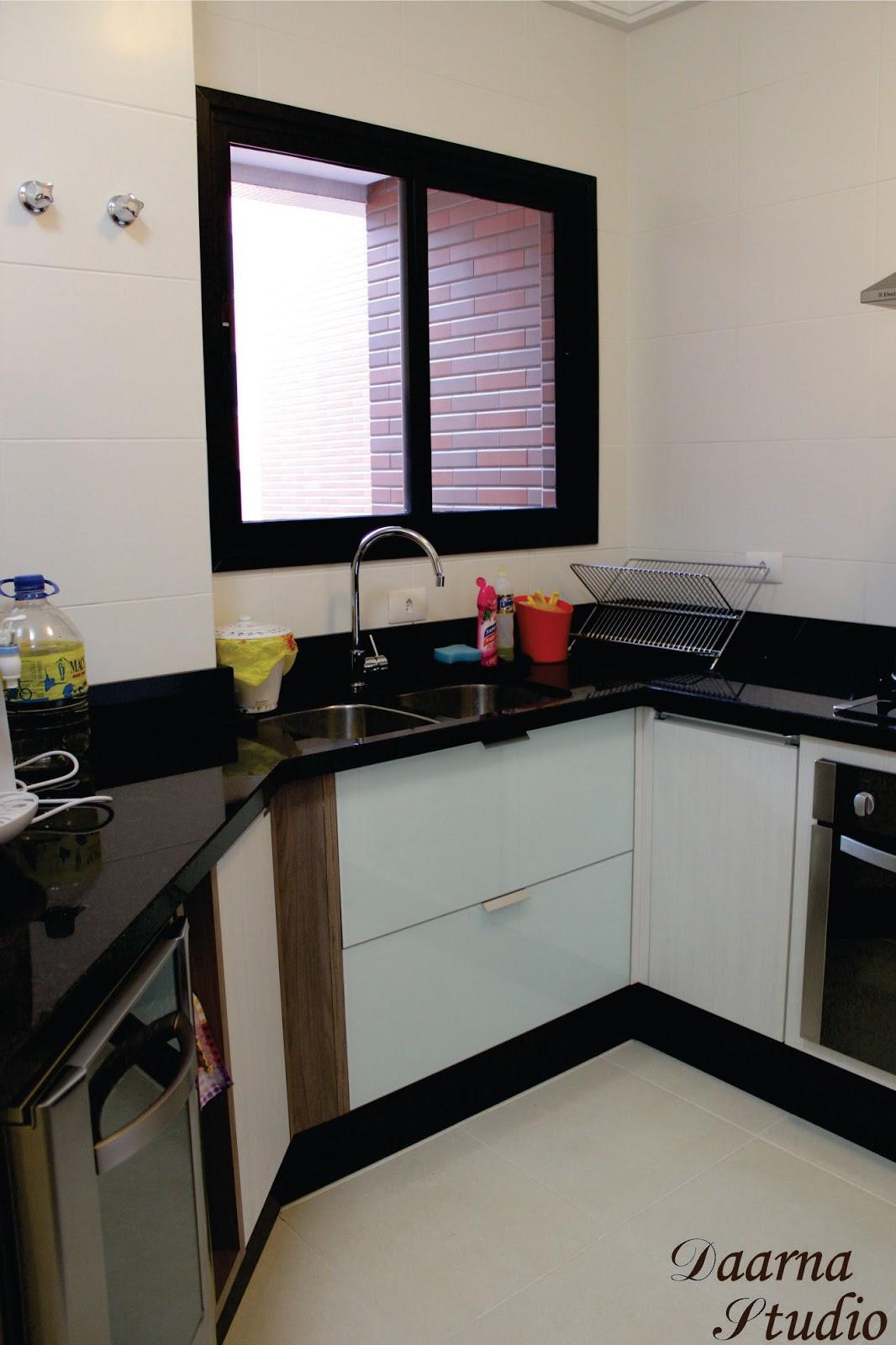 Daarna Arquitetura & Interiores: Cozinha Despensa e Área de Serviço #756841 1066 1600