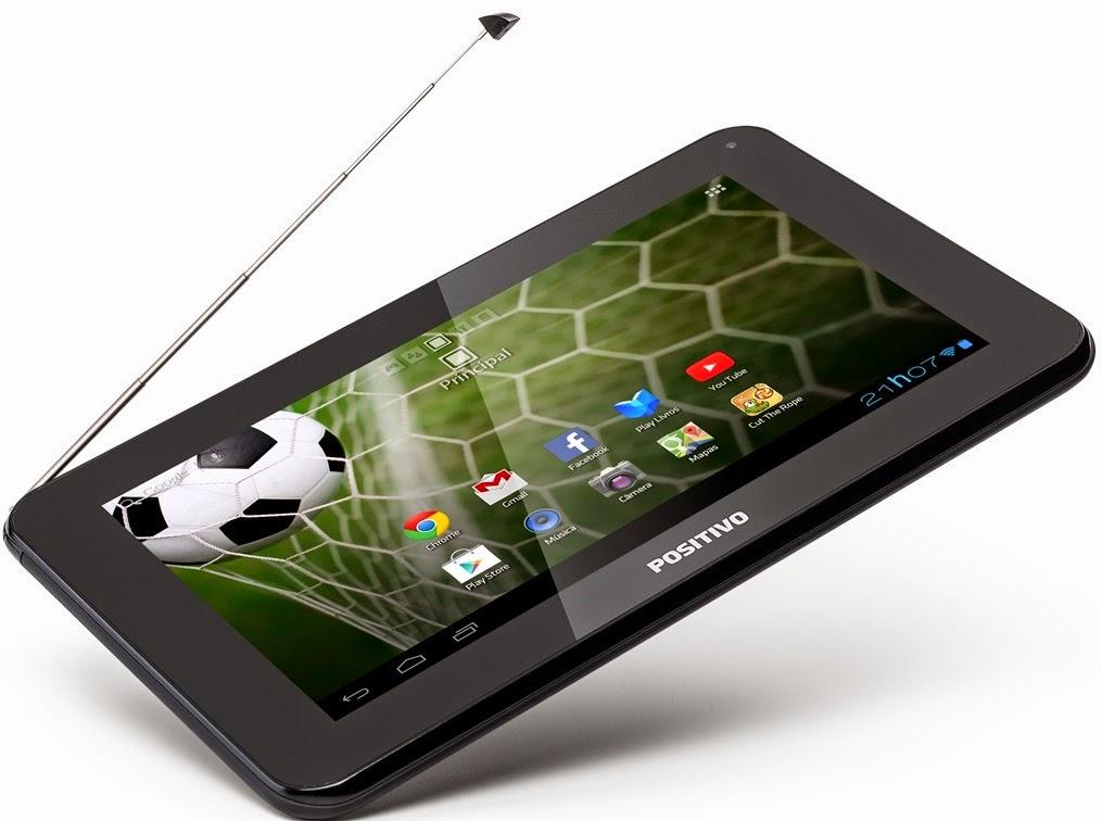 Positivo lança seu primeiro tablet com TV digital por R$ 399