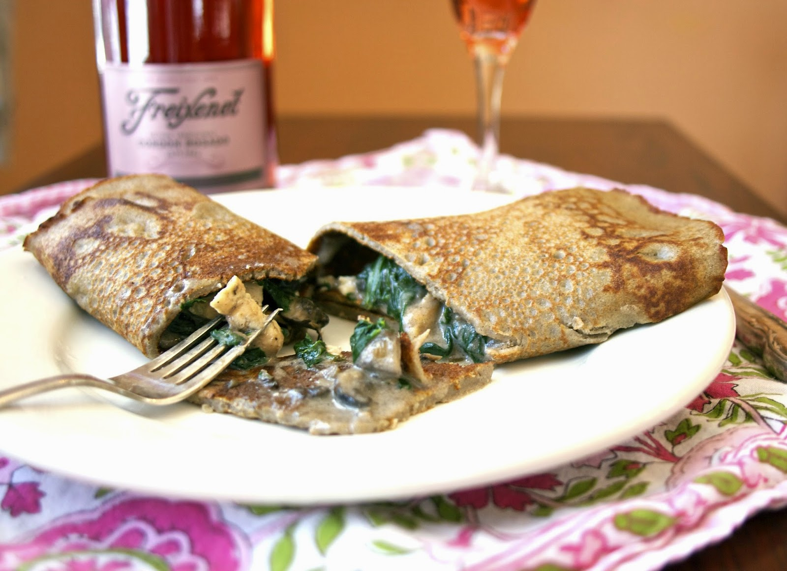 Chicken Normandy Crepe: simplelivingeating.com