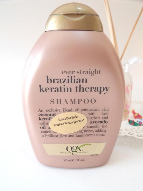 Organix Brazilian Keratin Therapy Şampuanı