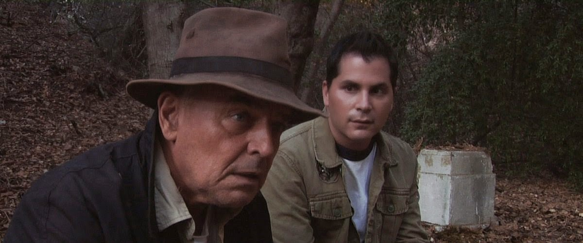 Ray Wise and Adam Green in Digging Up The Marrow (2014)