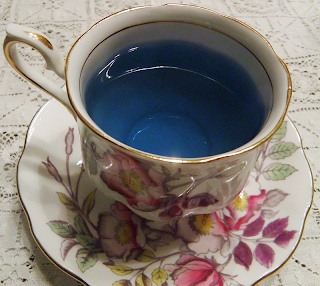 Cup of Blue Tea