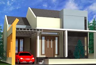 Desain Terbaru Rumah Minimalis Modern 1 Lantai Model 2014 Gambar 3