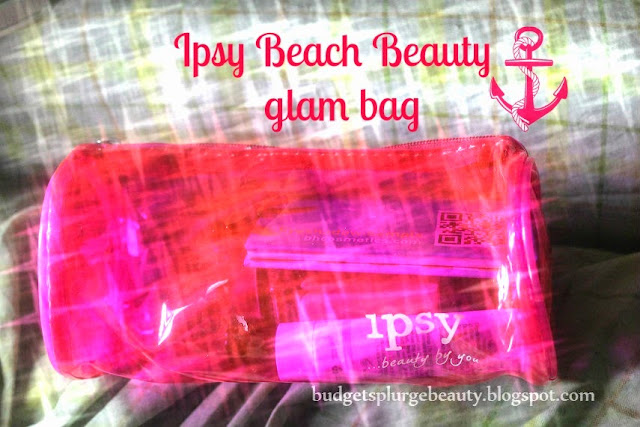 july beach beauty glam bag