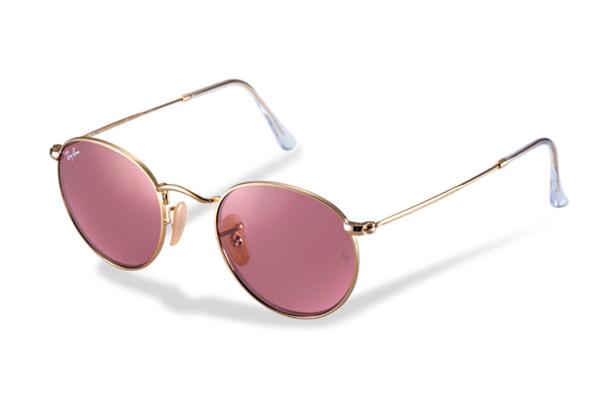 3ac1092136417 ... gafas ray ban cristal rosa ...