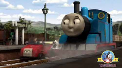 New Sodor Blue mountain mystery Winston trolley Maron station Thomas the tank engine and friends