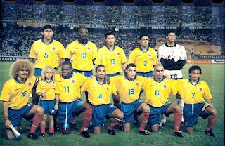 la selección de fútbol de colombia es el equipo representativo de ...