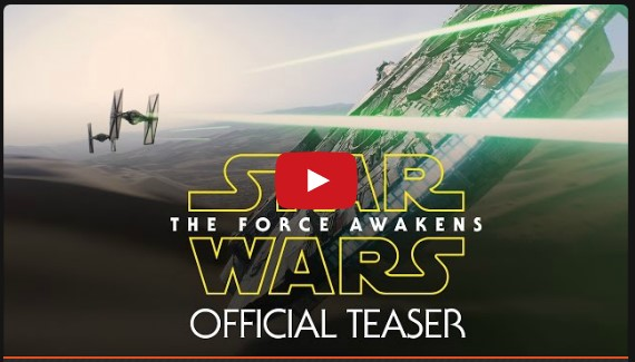 Teaser oficial Star Wars Episodio VII The Force Awakens