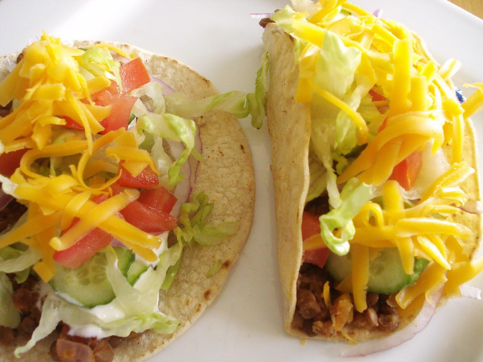 Presque v g tacos de lentilles - Sauce fromagere tacos recette ...