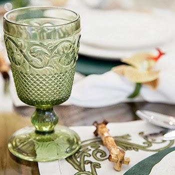 Theodora Home decoração de mesa café da manha taca para água de vidro