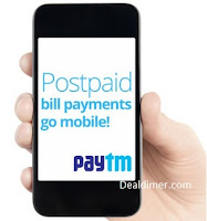 Bill Payments Cashback PayTM