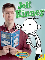 bookcover of Jeff Kinney  (Remarkable Writers)  by Christine Webster