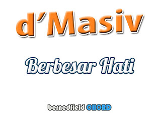 Lirik dan Chord(Kunci Gitar) D'Masiv ~ Berbesar Hati