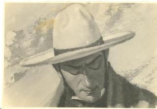 'Don José de San Martín', retrato del maestro catalán don Fidel Roig Matóns (c.1920) tomado de docente.mendoza.edu.ar