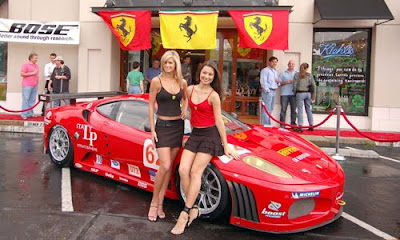 ferrari girl models