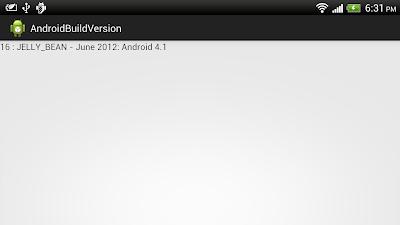 通過讀取 android.os.Build.VERSION.SDK_INT 獲得操作系統版本