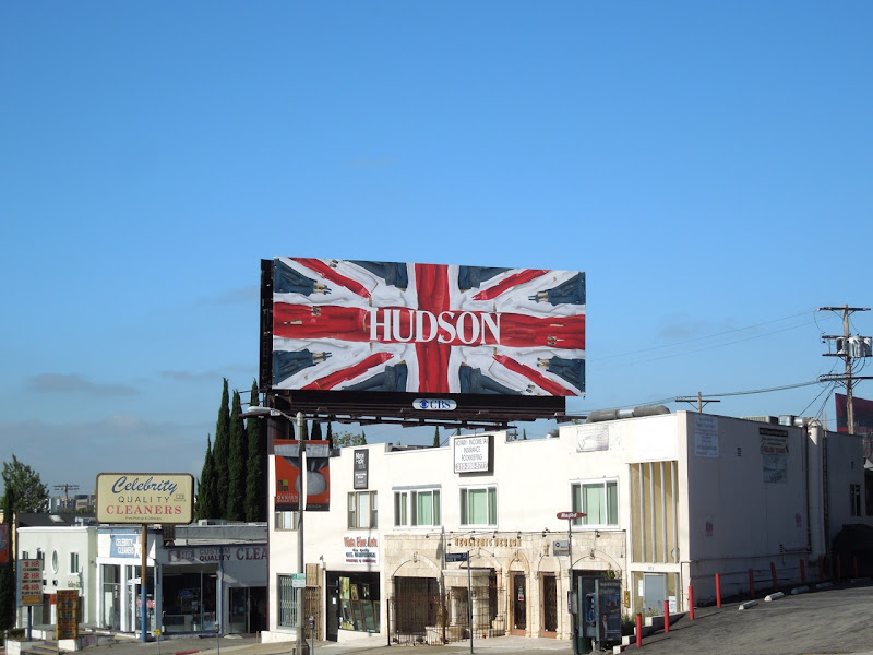 Hudson Union Jack 2012 billboard