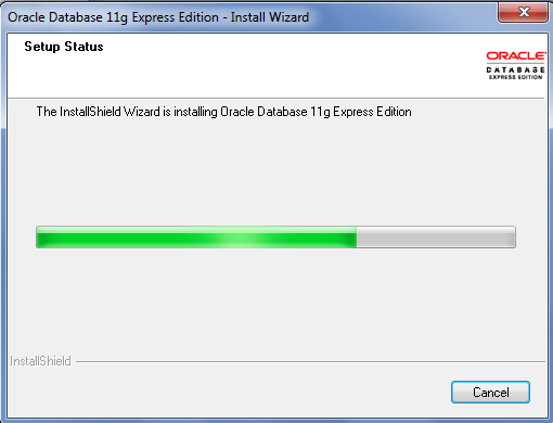 Oracle XE 11g Database Installation