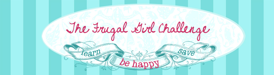 The Frugal Girl Challenge