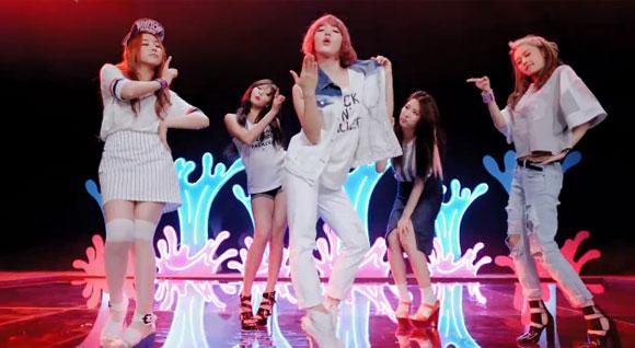 4minute chính thức ra mắt MV cho ca khúc bị KBS ''tuýt còi''