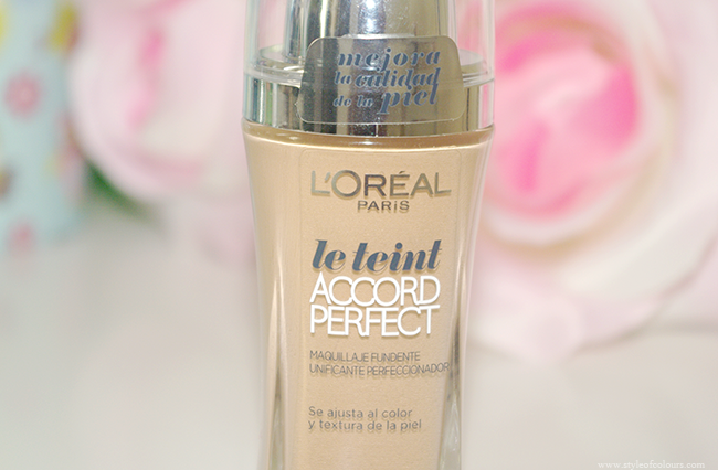 L'oreal true match liquid foundation in W7 review