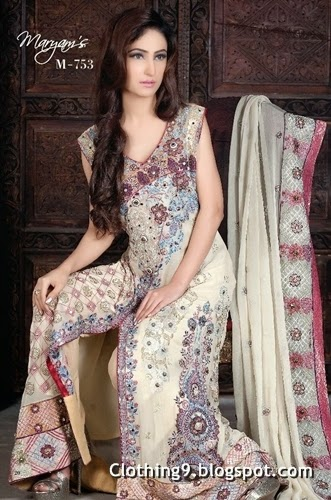 Heavy Embroidered New Suits 2015