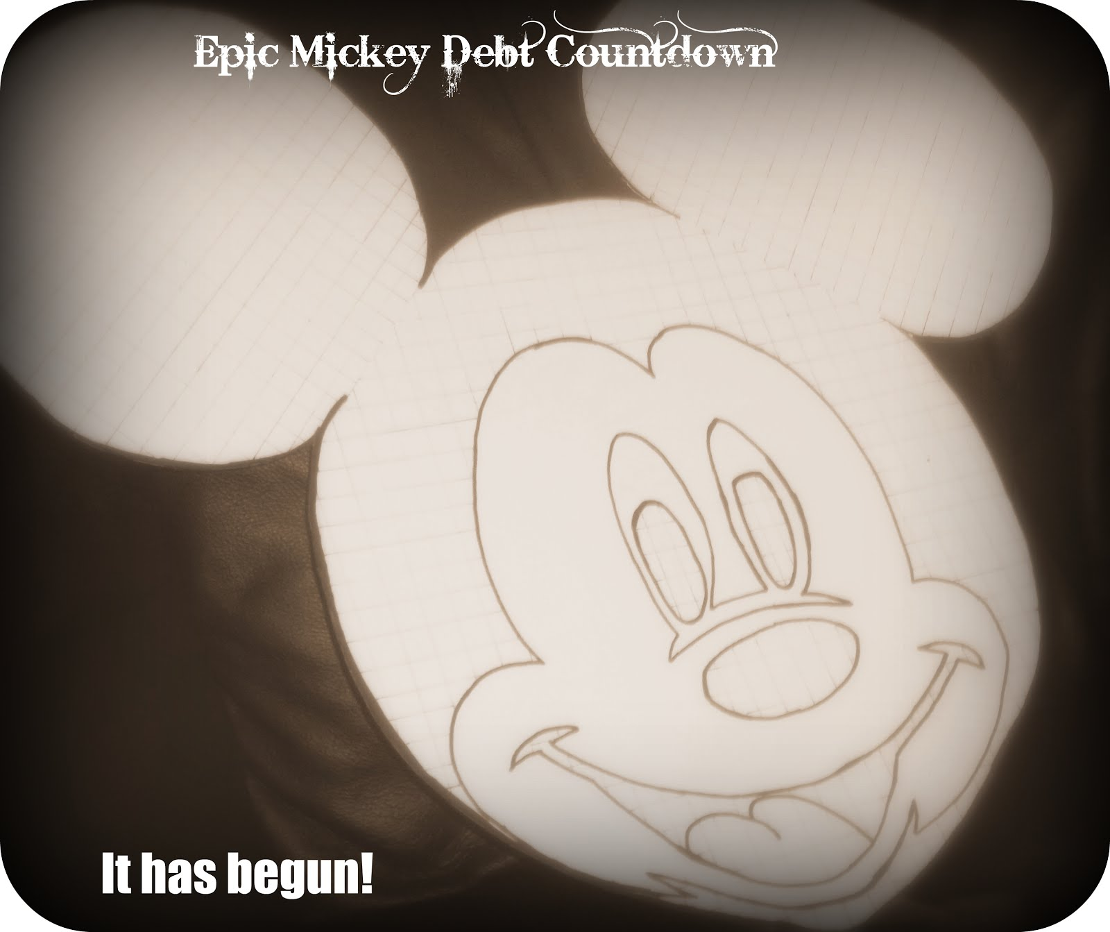 Epic Mickey Debt Count Down