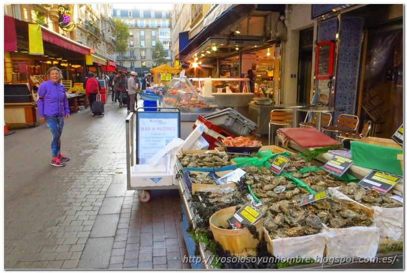 Mercado de la Rue Daguerre