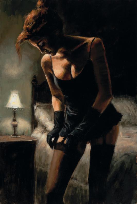galerias fotos mujeres en ligueros y medias negras: