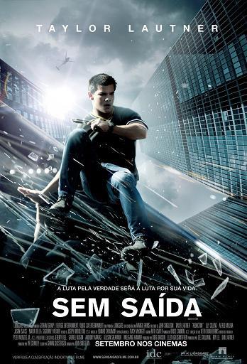 filme sem saída taylor lautner poster cartaz