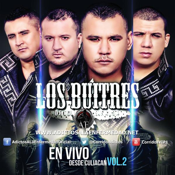 Los Buitres De Culiacan - En Vivo Desde Culiacan Vol. 2 CD Album 2013