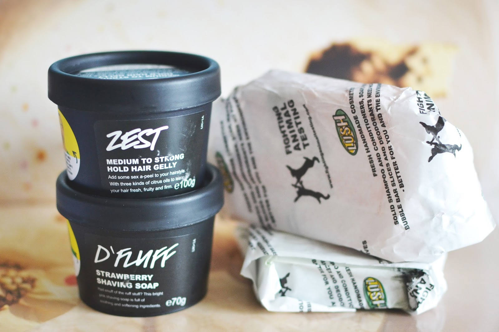 lush haul, new products from lush summer range