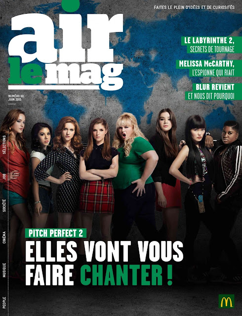 Actress, Mode,  Singer @ Anna Kendrick & Hailee Steinfeld - Airlemag France, June 2015