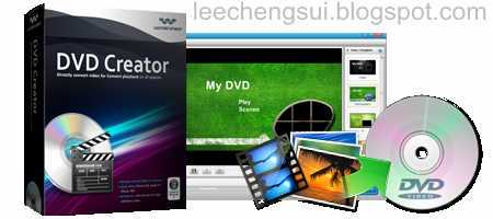 Wondershare DVD Creator v2.6.4 + Serial Key