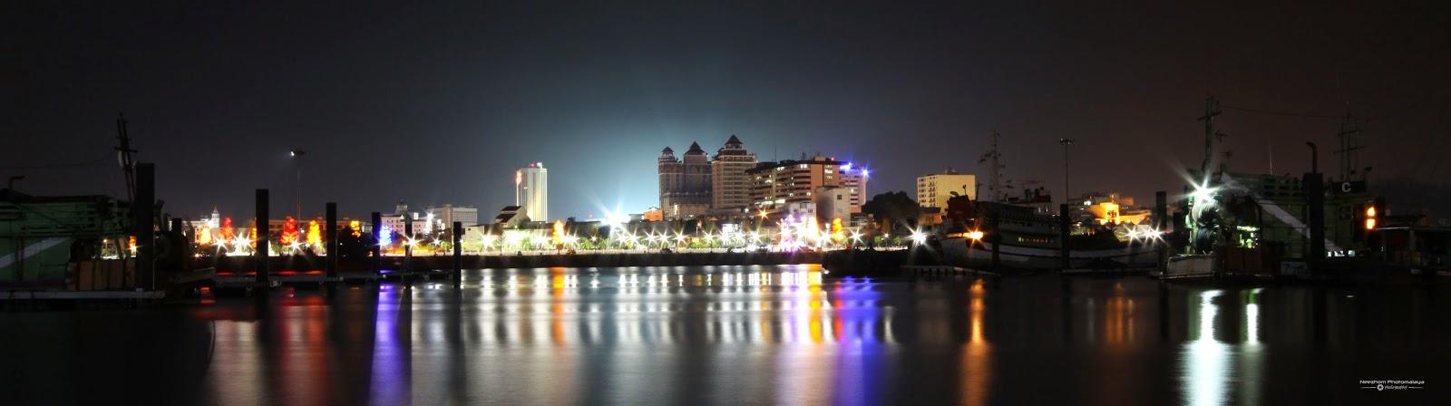 Bandaraya Kuala Terengganu waktu malam