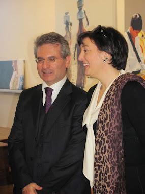 Com Sua Ex. o Ambassador de Italia Dr. Renato Variale