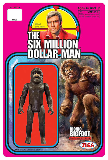"Zica 3.75"" Six Million Dollar Man Bionic Bigfoot Figure"