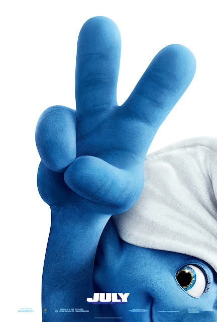 The Smurfs 2 Animation Movie Poster