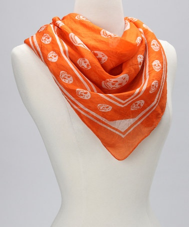 Zulily Raj Imports Skull Scarf Good As Gold Blog